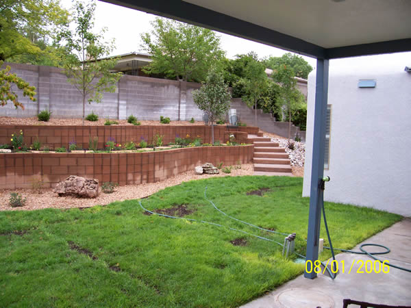 Upgraded Landscaped Backyard