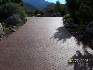 Professionally Laid Pavers